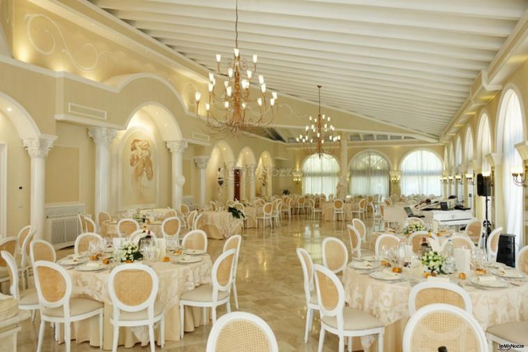 Villa Madama - Gli ampi spazi del salone per i ricevimenti