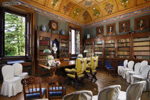 Rito Civile in Sala Biblioteca a Castello dal Pozzo - Arona