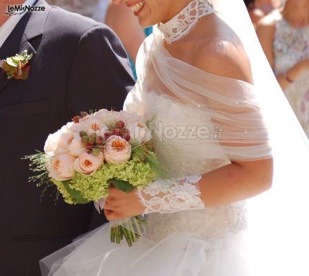 Bouquet Sposa In Inglese.Foto 11 Matrimonio In Rosa Bouquet Per La Sposa Di Rose