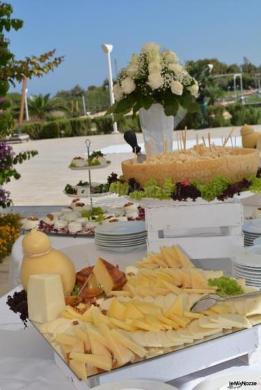 Banchetto di formaggi