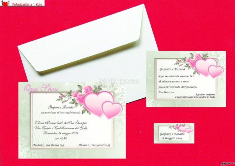 Partecipazioni Matrimonio 1 Euro.Partecipazioni A 1 Euro Inviti Di Nozze Originali E