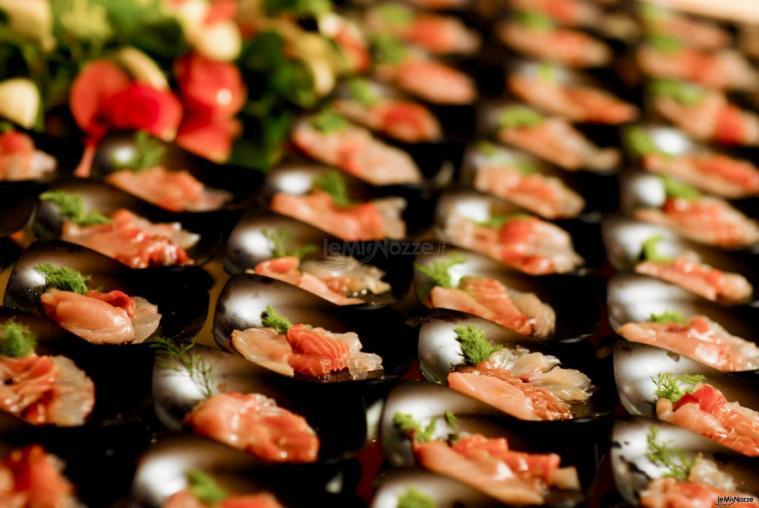 Ristorante Alla Veneziana - Finger food di pesce per il matrimonio