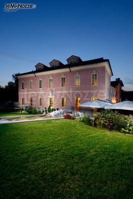 Matrimonio a Palazzo - Castello Dal Pozzo al tramonto
