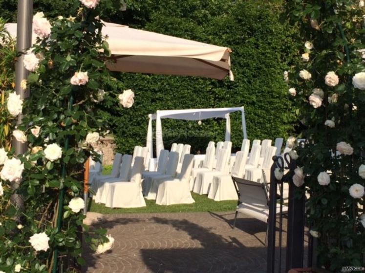 Ristorante Alla Veneziana - Cerimonia di nozze in giardino