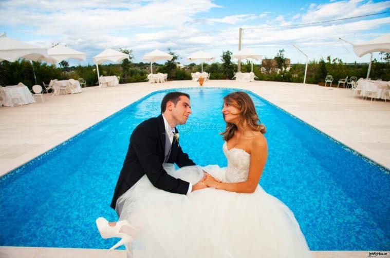 Masseria Centrone Piccolo - Ricevimenti a bordo piscina