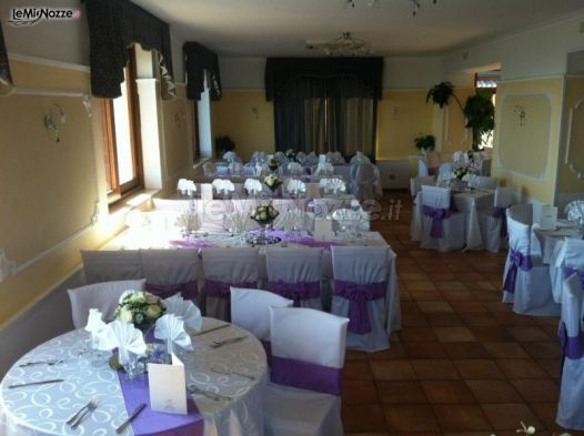 Sala interna del ristorante - Ristorante Bellavista