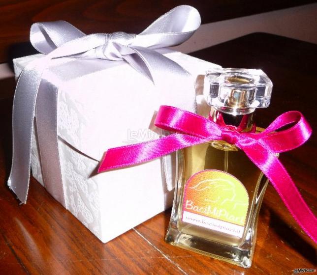 Baci Mi Piaci - Fragranza personalizzata come bomboniera di matrimonio