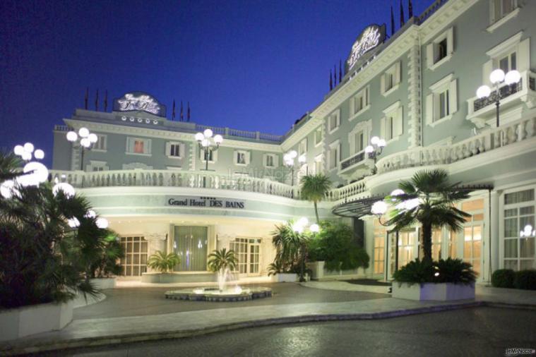 Ingresso Grand Hotel Des Bains