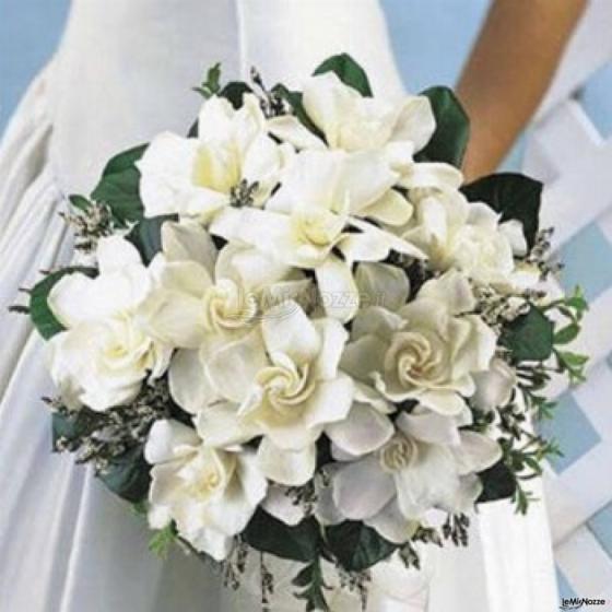 gardenia bouquet sposa