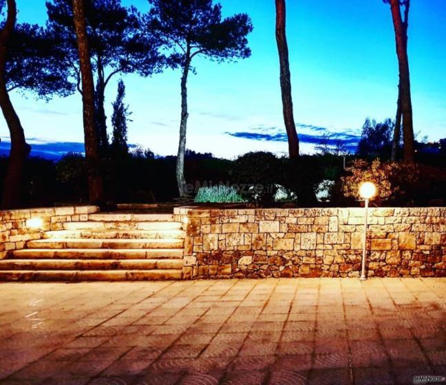 Villa Natìa - Di sera al tramonto
