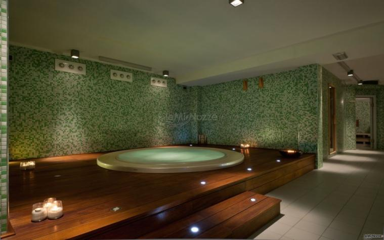 Jacuzzi del Pietrablu Resort & SPA