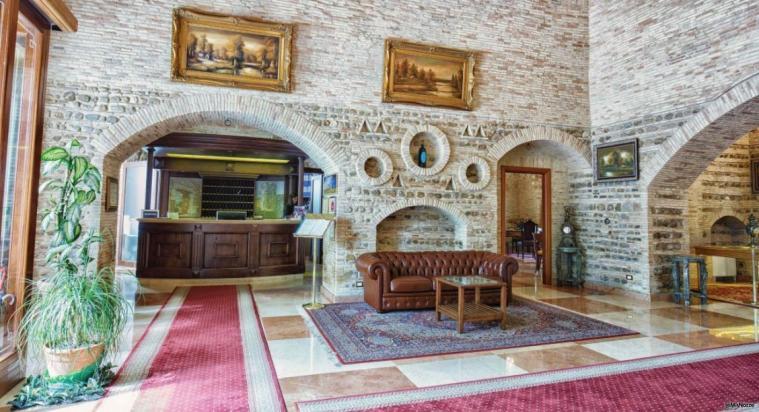 Grand Hotel Vigna Nocelli Ricevimenti - Il salone della reception