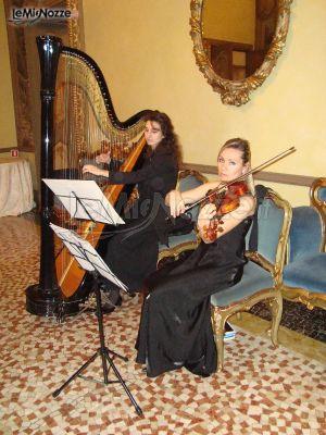 Violino e arpa per il matrimonio