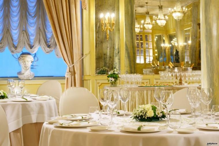 Grand Hotel Parker's - La Sala degli Specchi per il ricevimento di matrimonio