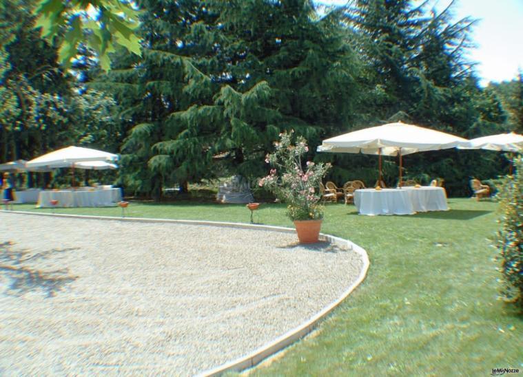 Villa Fabio - Uno scorcio del parco