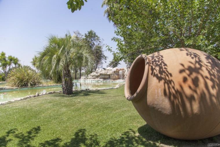 Villa Demetra - Un particolare del giardino