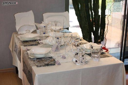 Tavola allestita Villeroy & Boch New Wave Premium Platinum