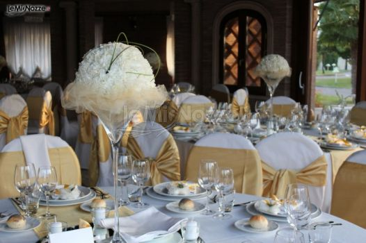 Matrimonio In Giallo : Allestimento matrimonio in giallo e bianco d f catering