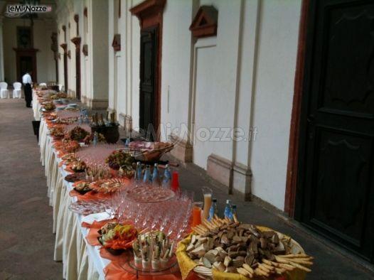 Catering per il matrimonio a Pavia
