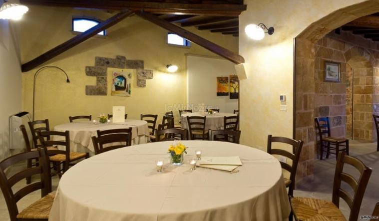 Tenuta San Leonardo - Gli ampi spazi delle sale interne