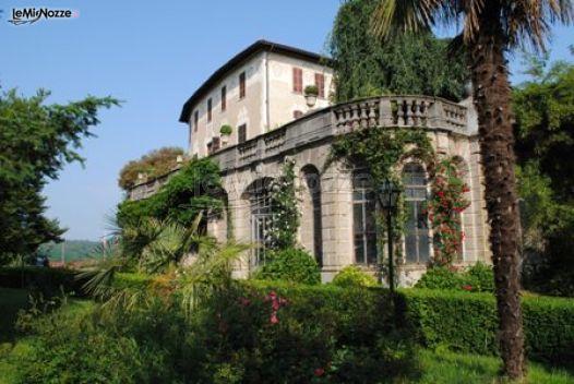 Castello con parco per ricevimenti di matrimonio