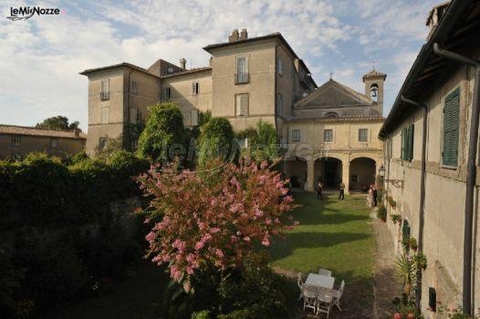 Panoramica del castello per il matrimonio - Castel Giuliano