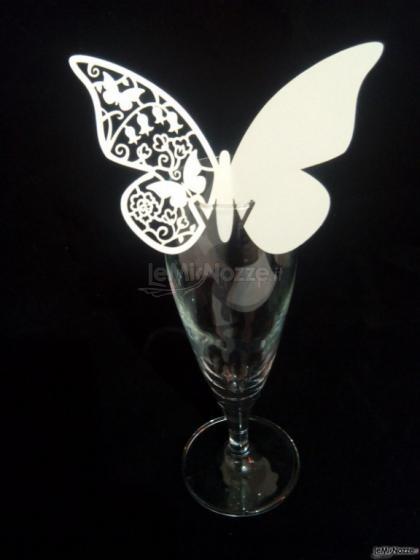 Farfalle Segnaposto di vari colori perlate e non
