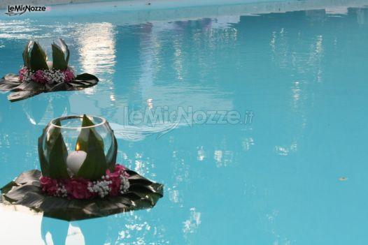 Foto 216 addobbi floreali location allestimento for Addobbi piscina per matrimonio