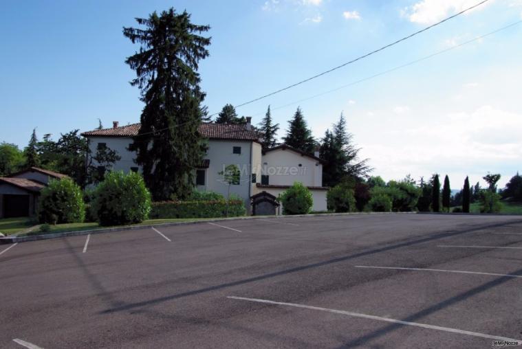 Villa Fabio - Il comodo parcheggio