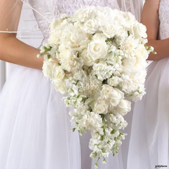 Bouquet Sposa Bianco.Foto 45 Bouquet Sposa Bouquet Sposa Bianco A Cascata