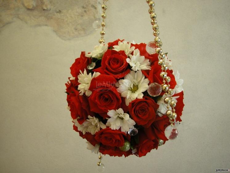 bouquet sfera / borsetta