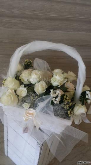 Insolito Fiori - Rose bianche per il matrimonio