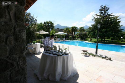 Ricevimento di matrimonio a bordo piscina villa ecetra for Matrimonio bordo piscina