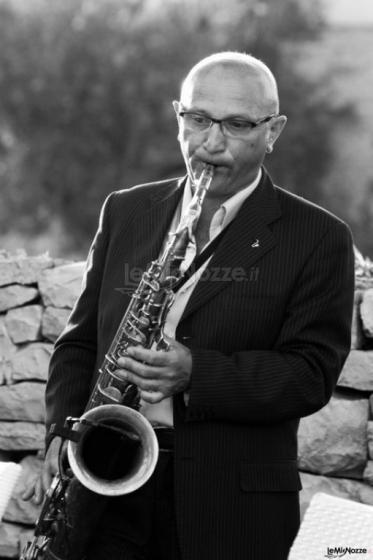 Gruppo Taeda Band per matrimoni - Sax per la musica jazz al matrimonio