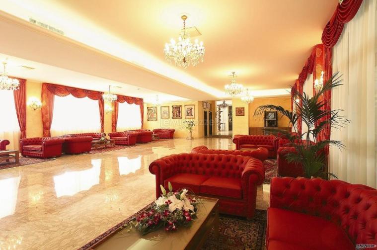 La Hall Dell Hotel Grand Hotel Adriatico Grand Hotel Adriatico