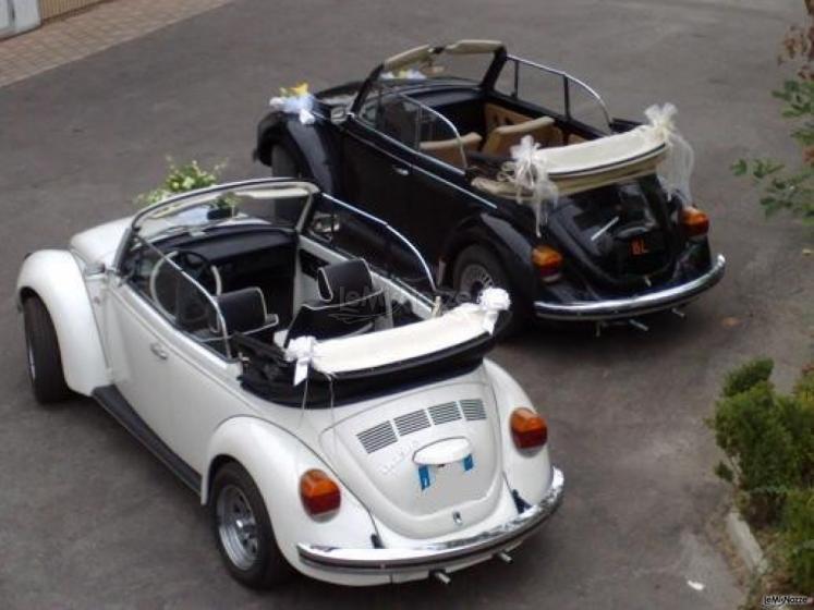 Autonoleggio - Maggiolone cabrio per matrimoni