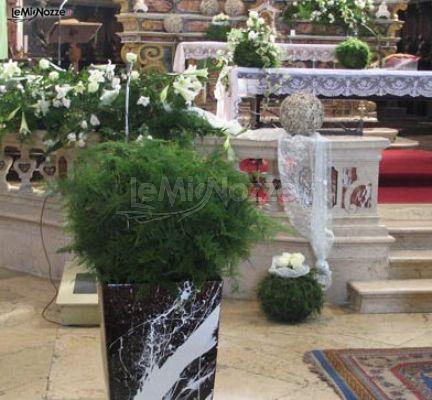 Foto 365 addobbi floreali chiesa e cerimonia for Decorazione vasi