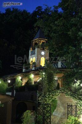 Location di matrimonio di sera