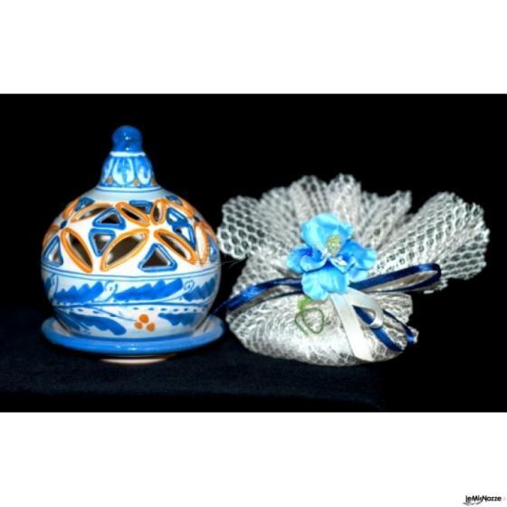 Bomboniere Matrimonio Ceramica Caltagirone.Diffusore In Ceramica Di Caltagirone Ceramiche Cabibbo