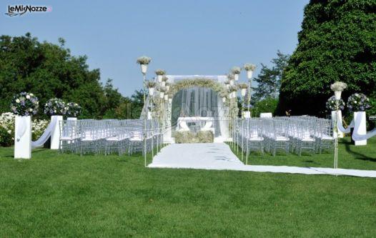 Gazebo Per Matrimonio In Giardino : Foto addobbi per cerimonie all aperto allestimento