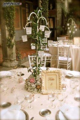 Foto 29 centrotavola matrimonio particolare centrotavola con candele - Centro tavola con candele ...