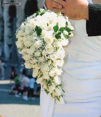 Bouquet A Goccia Sposa.Foto 45 Bouquet Sposa Bouquet Della Sposa Dallo Stile A Goccia