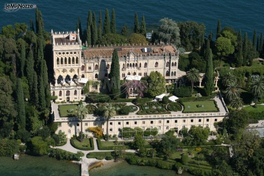 Villa per il ricevimento di matrimonio sul Lago di Garda
