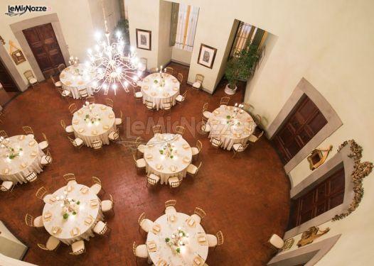 Tavoli rotondi per le nozze villa rospigliosi foto 9 - Tavoli rotondi per catering ...