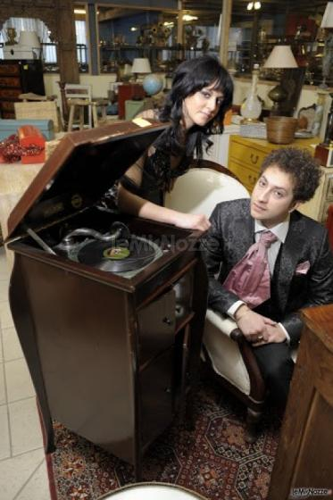 Mia & Rice al grammofono