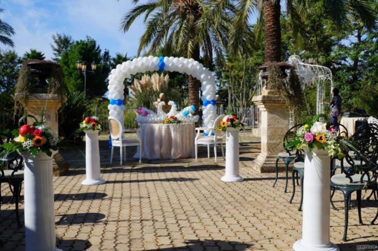 Villa Madama - Il rito civile di giorno