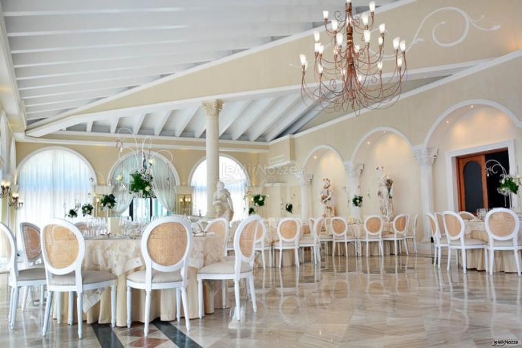 Villa Madama - La Sala Raffaello per il ricevimento di nozze di classe