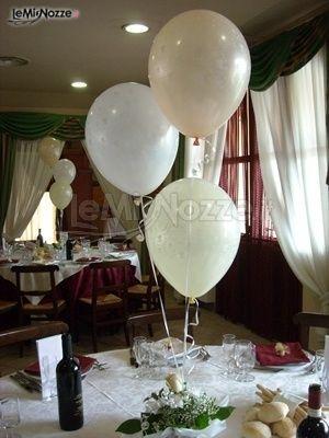 Allestimento per palloncini per il matrimonio il punto - Decorazioni matrimonio palloncini ...