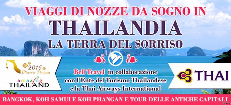 Bell Travel in collaborazione con l'Ente del turismo thailandese e Thai Airways