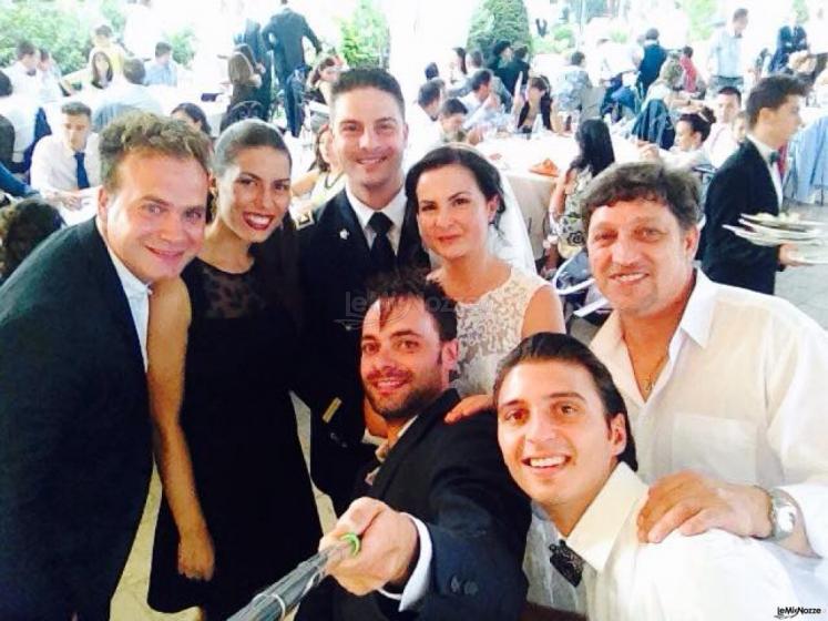 Summertime Trio - Un selfie con gli sposi